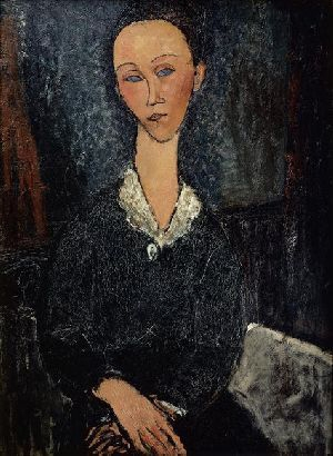 The Femme au Col Blanc, 1917,The Musee de Grenoble, France