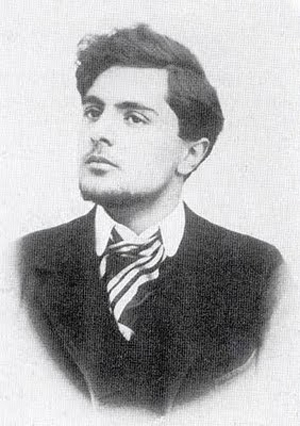 Photo of Modigliani as a young man