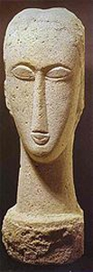 Head. c. 1911. Limestone. Perls Galleries. New York, NY, USA. 1911